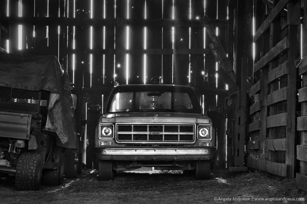 Truck in the Old Edna Barn | San Luis Obispo, CA