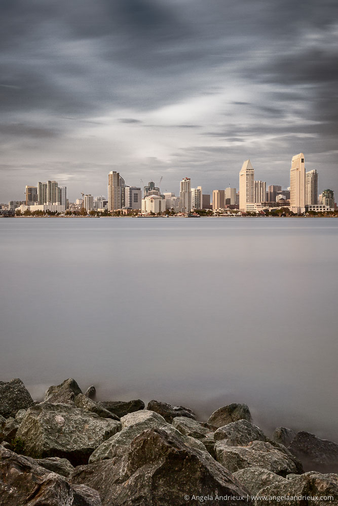Stormy Skies Over San Diego | California | Made with Topaz ReMask