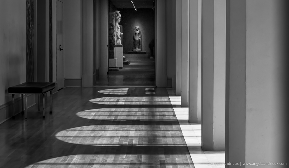 Arches, Shadows, & Sculptures | Chrysler Museum of Art | Norfolk, VA