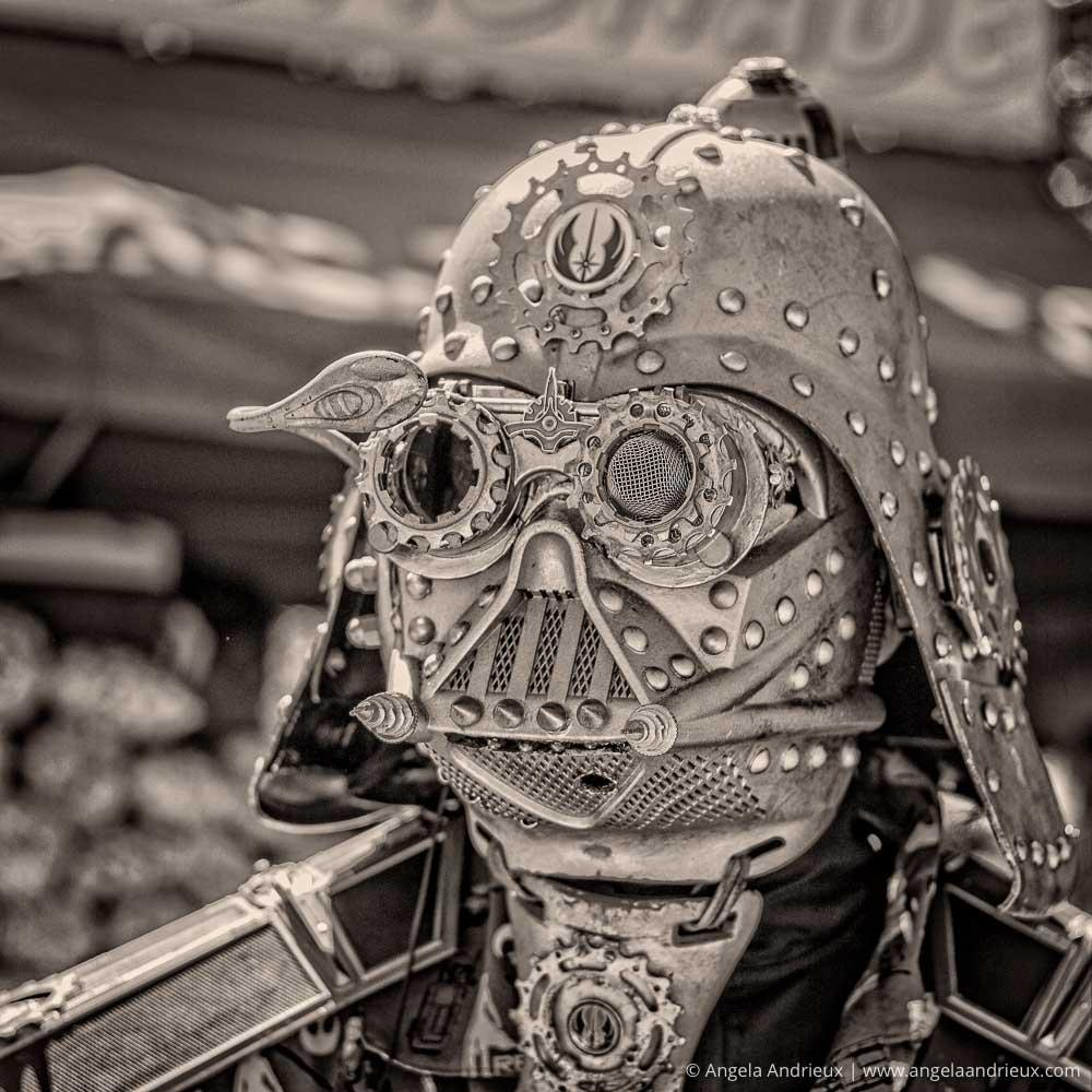 Steampunk Darth Vader | Star Wars Cosplay | Balboa Park Maker Faire | San Diego, CA | Scott Kelby Worldwide Photo Walk