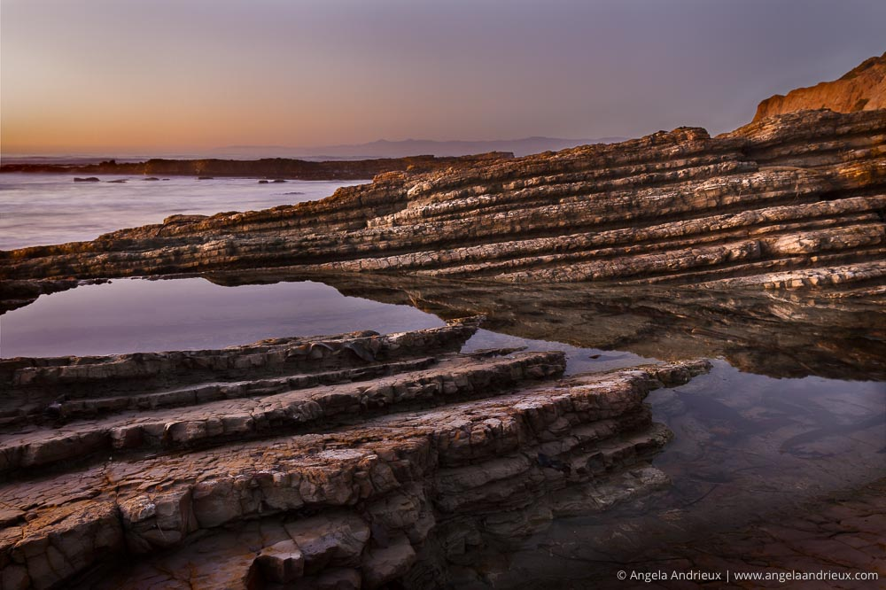 Montana de Oro Tidepools at Sunset | Los Osos, CA