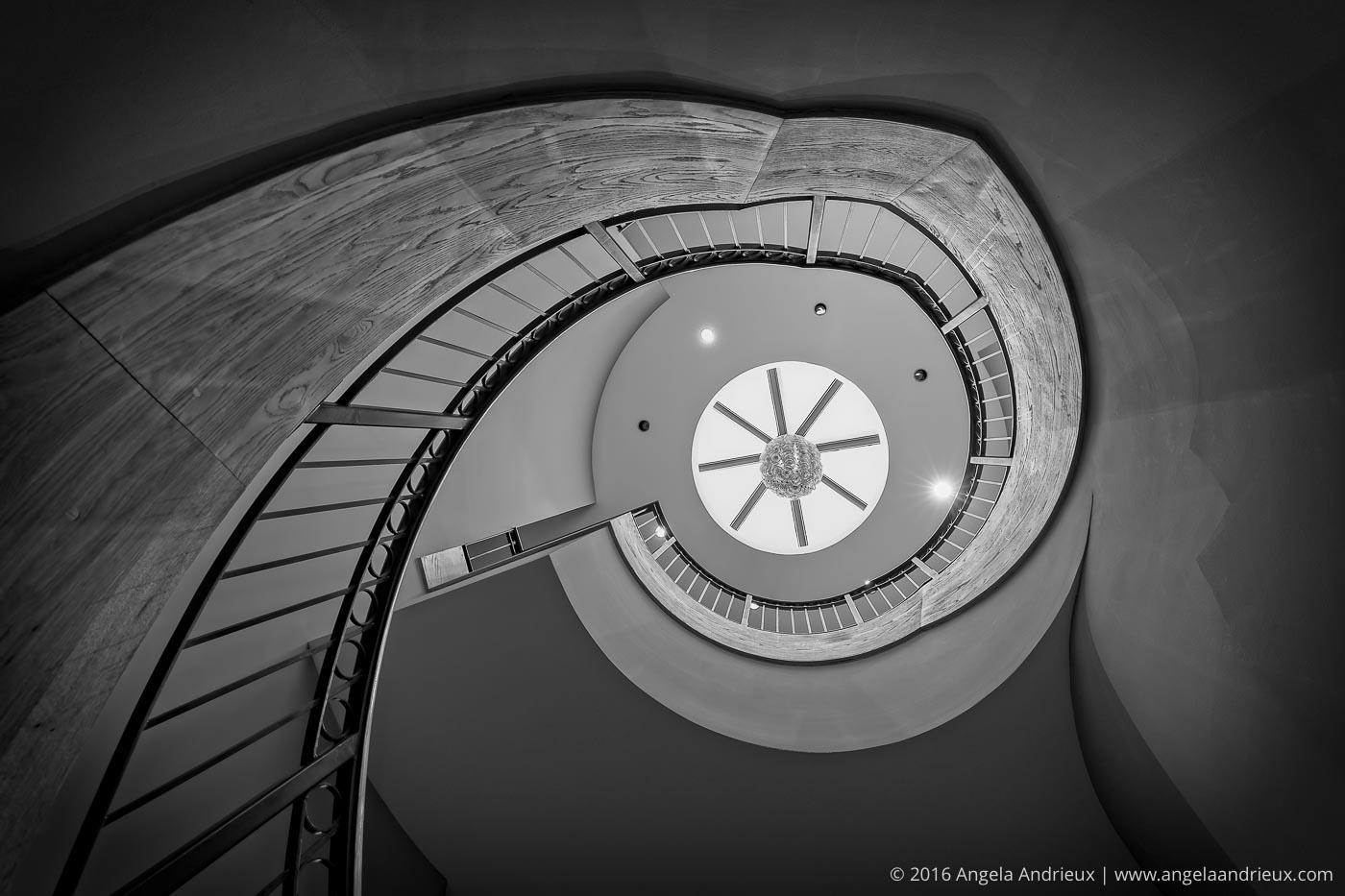 Spiral Staircase | Chrysler Museum of Art | Norfolk, VA