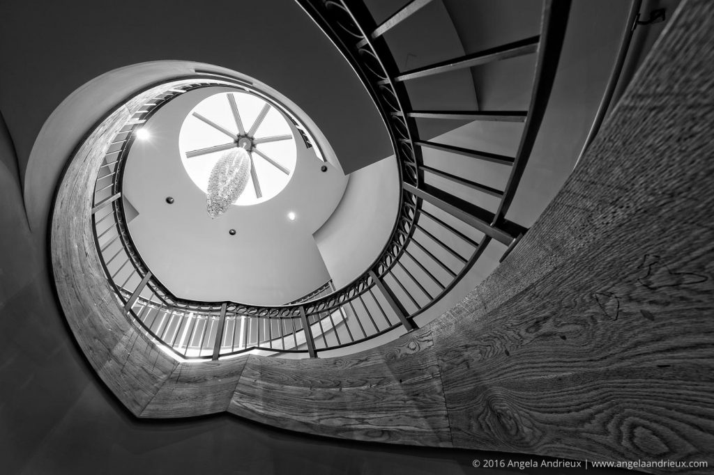 Spiral Staircase | Chrysler Museum of Art | Norfolk, VA