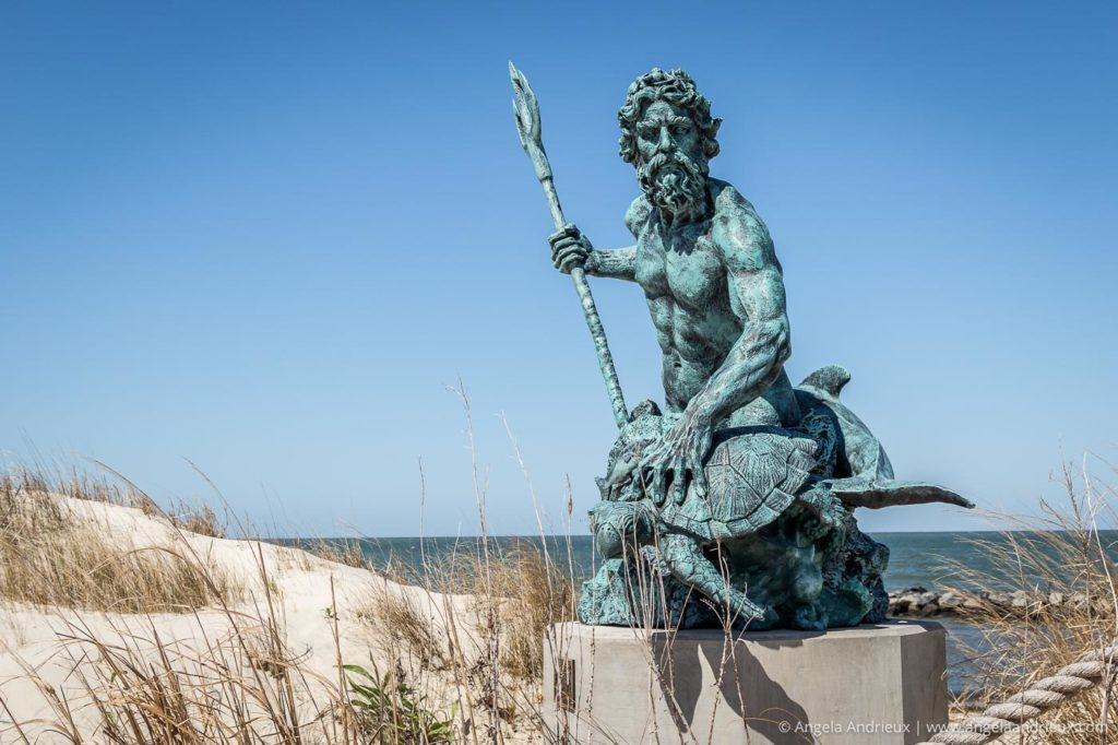 King Neptune Sculpture | Cape Charles, VA