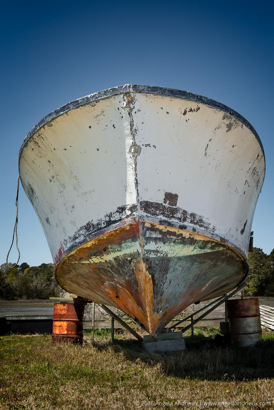 Abandoned Fishing Boat | Eastern Shore | Willis Wharf, VA