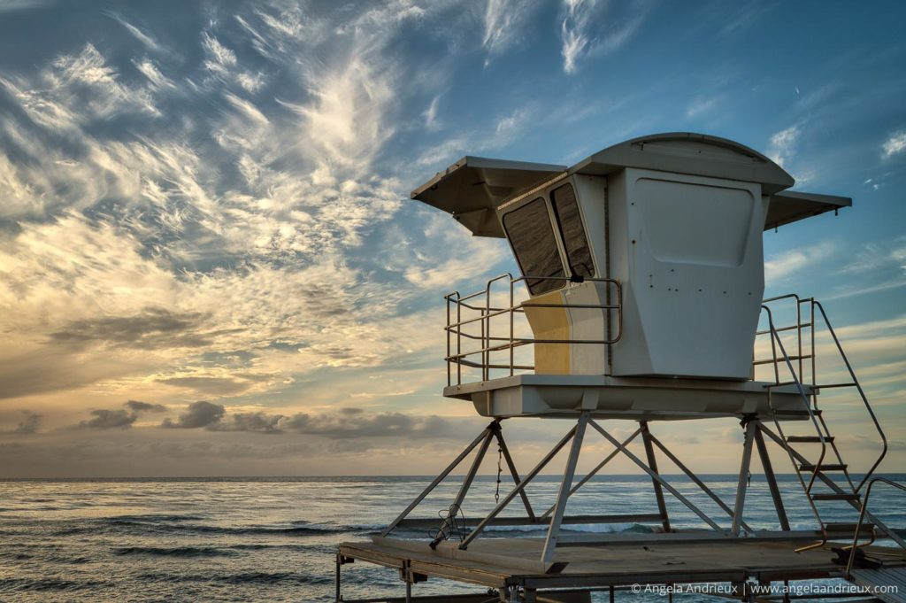 La Jolla Lifeguard Stand | California | HDR