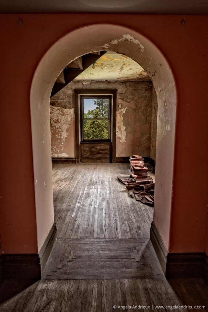 Swannanoa Palace  Third Floor Disrepair   Afton, VA