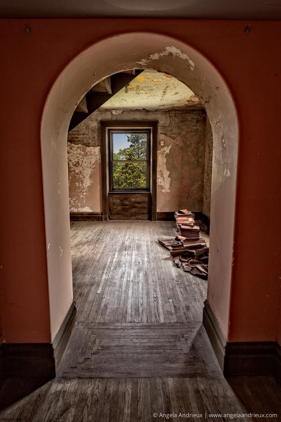 Swannanoa Palace |Third Floor Disrepair | Afton, VA