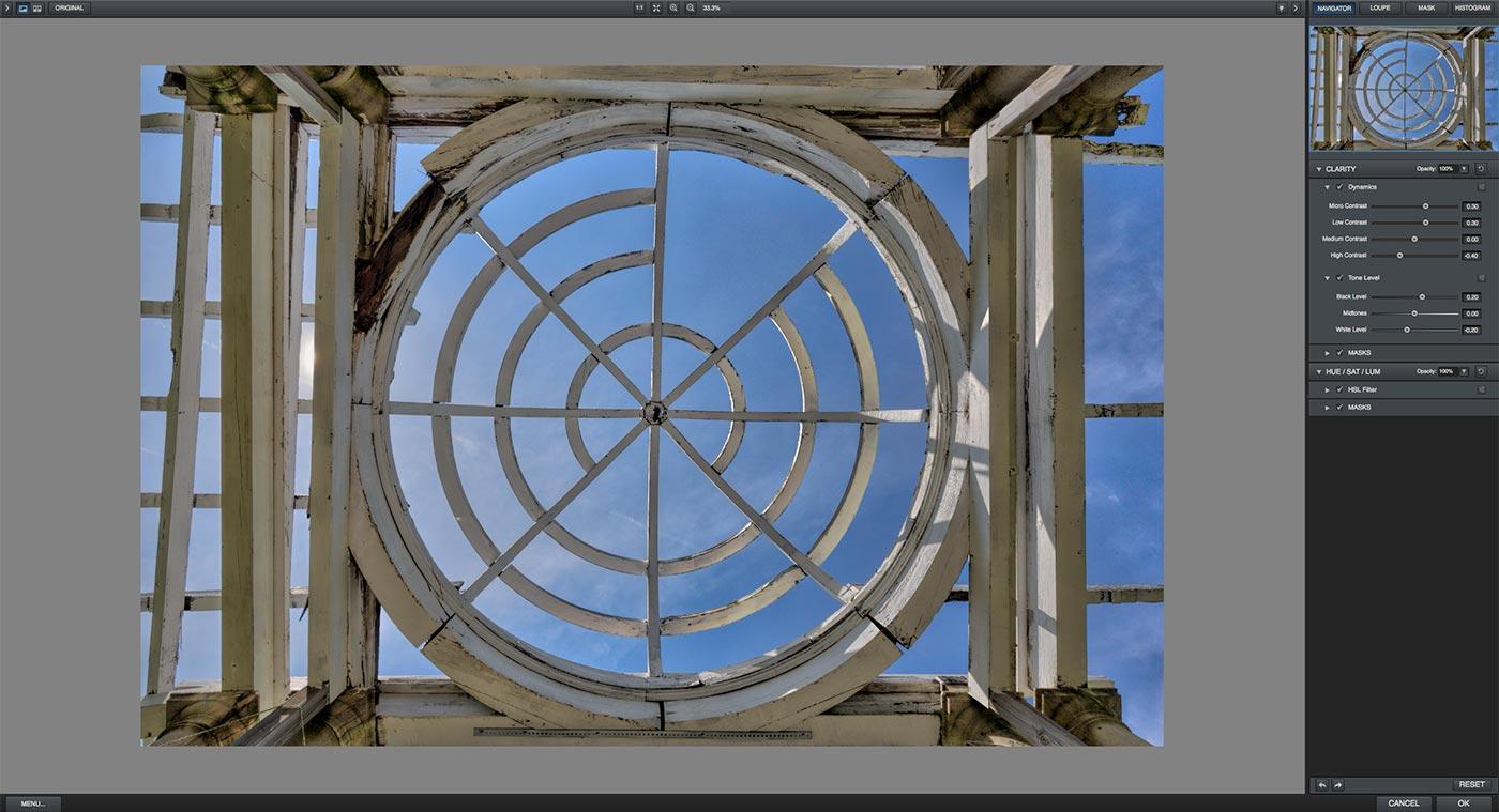 Topaz Clarity | Swannanoa Palace | Garden Dome | Afton, VA | Screenshot