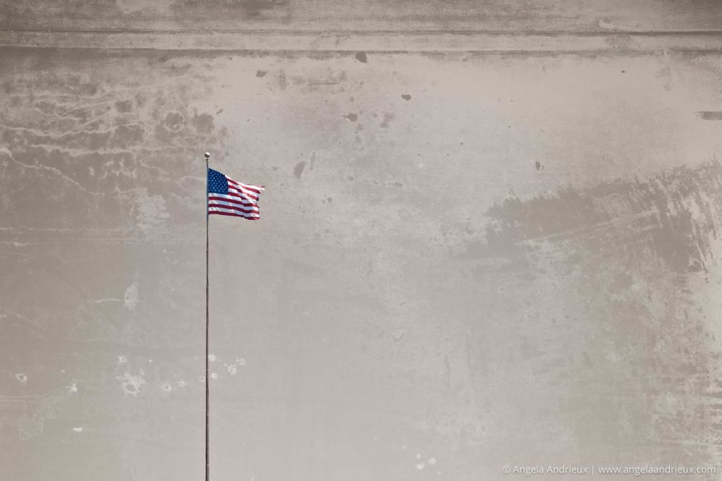 Tattered Flag | Fort Monroe | Hampton, VA