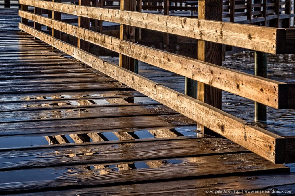 Pismo Beach Pier Reflection