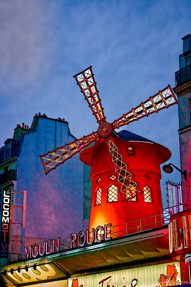 Moulin_Rouge_Paris_France_Pop_Art_Topaz_Simplify