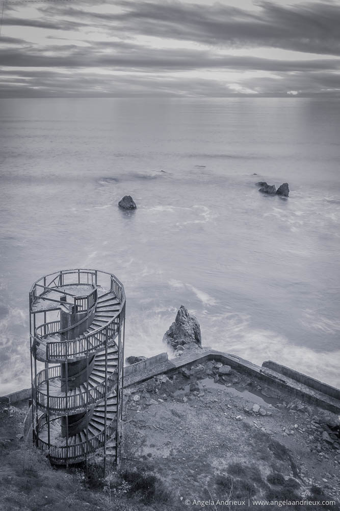 Abandoned Spiral Staircase | Stairway to Nowhere | Pismo Beach, CA