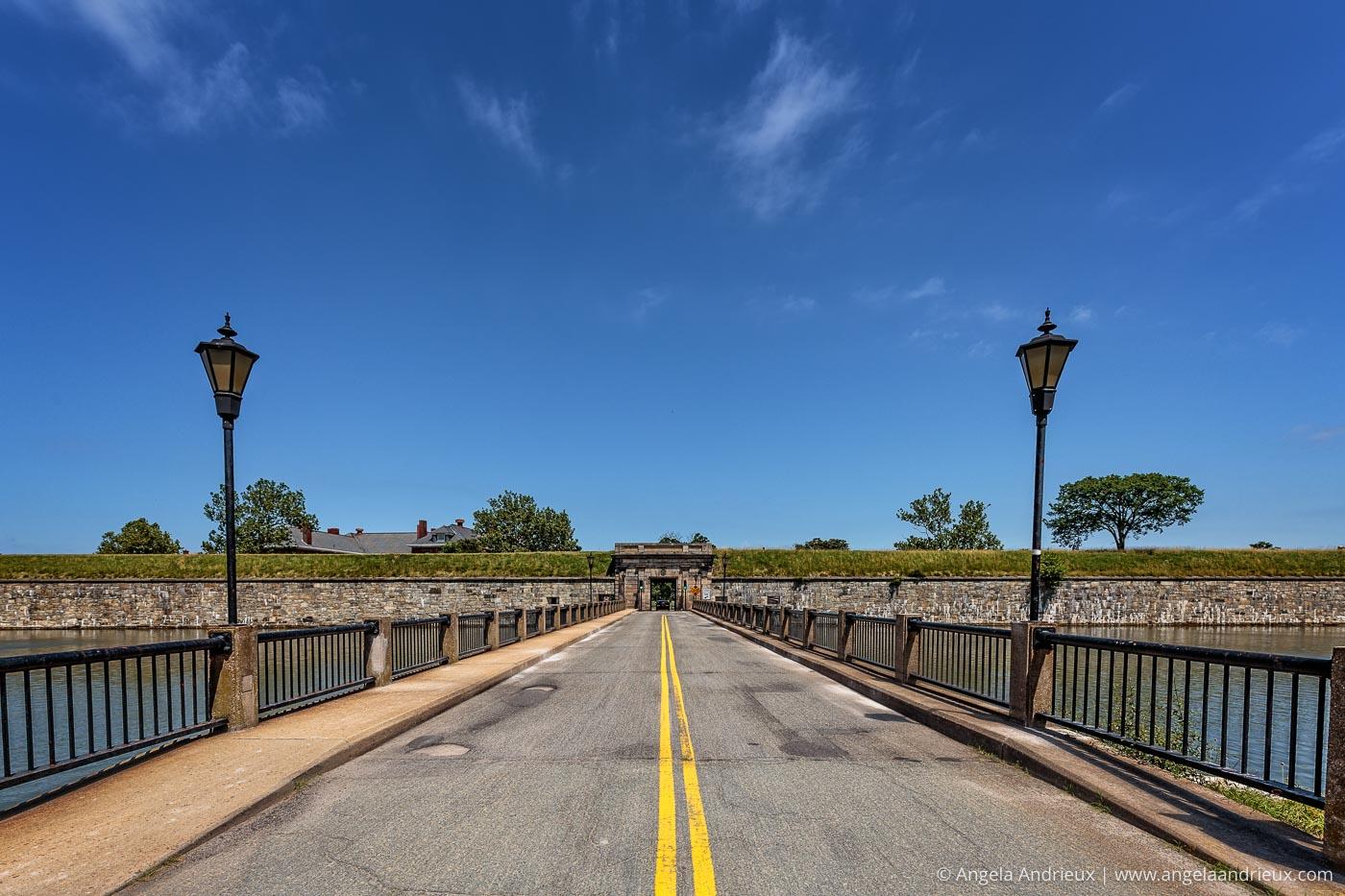 Entering Fort Monroe   Hampton, VA