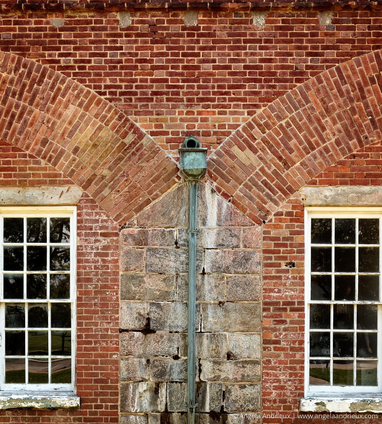 Brick Detail   Fort Monroe   Hampton, VA