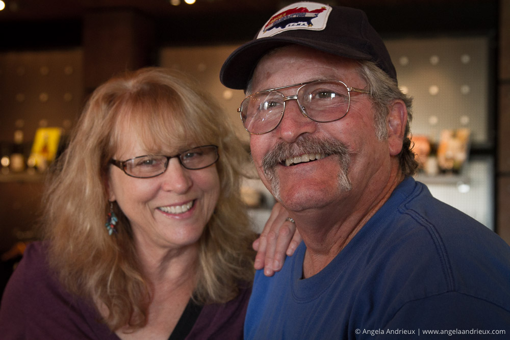 Mom & Dad at Tolosa Winery | San Luis Obispo, CA | Edna Valley Wine Tasting