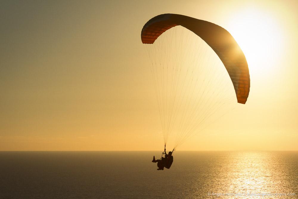 Sunset Paraglider | Torrey Pines Gliderport | La Jolla, CA