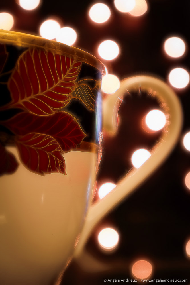 Topaz Glow | Coffee Tea Mug Cup Bokeh