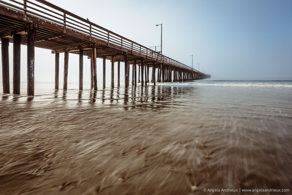 Avila Beach, CA | Foggy Morning | Long Exposure