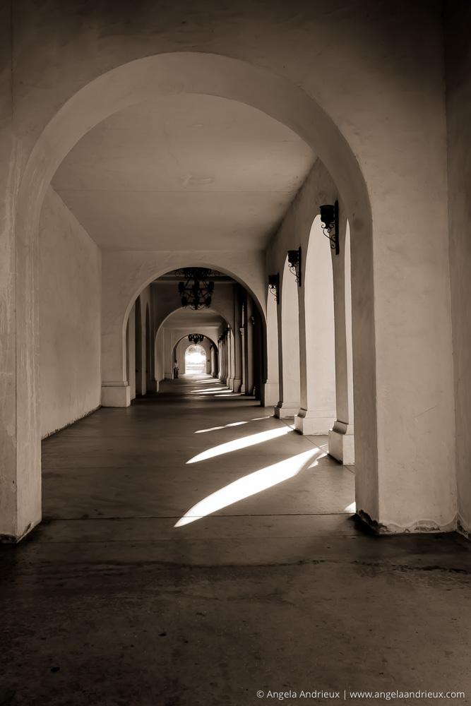 Hallway & Arches | Balboa Park | San Diego, CA | Scott Kelby Worldwide Photo Walk 2011