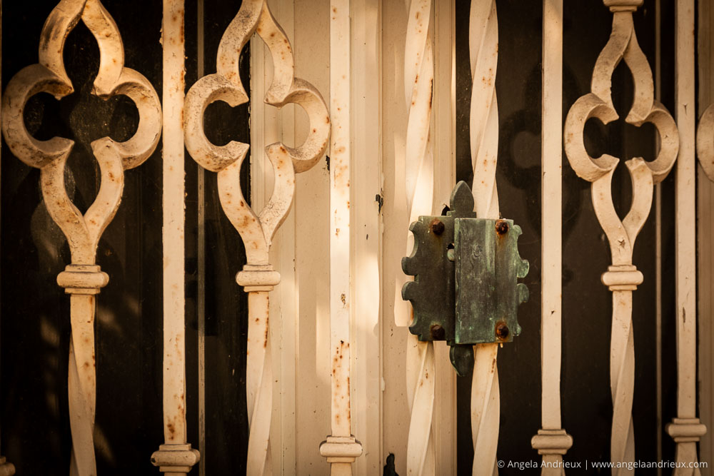 Wrought Iron Gate & Lock | Balboa Park | San Diego, CA | Scott Kelby Worldwide Photo Walk 2011
