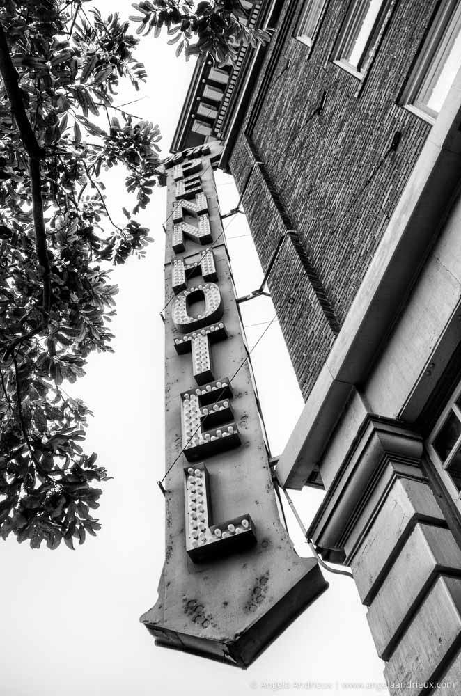 Penn Hotel Sign | Gaslamp Quarter | San Diego, CA