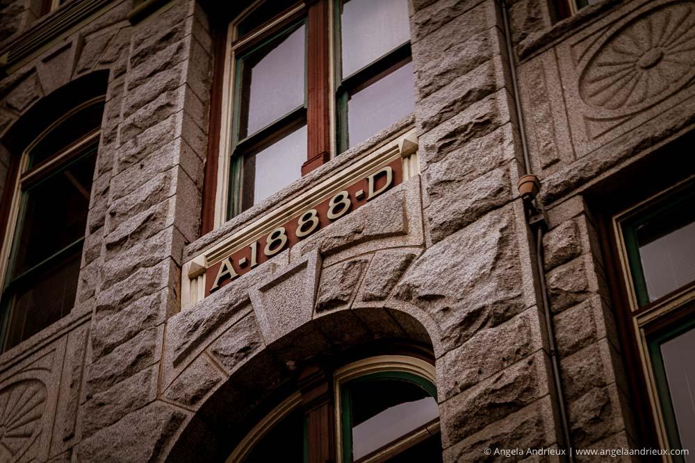 A-1880-D Building Facade | Gaslamp Quarter | San Diego, CA