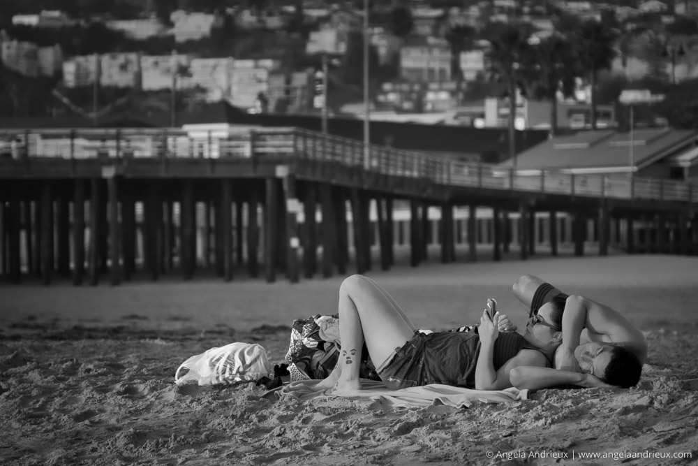 No Place I'd Rather Be | A couple relaxing on the sand | Pismo Beach, CA | Scott Kelby Worldwide Photo Walk 2014