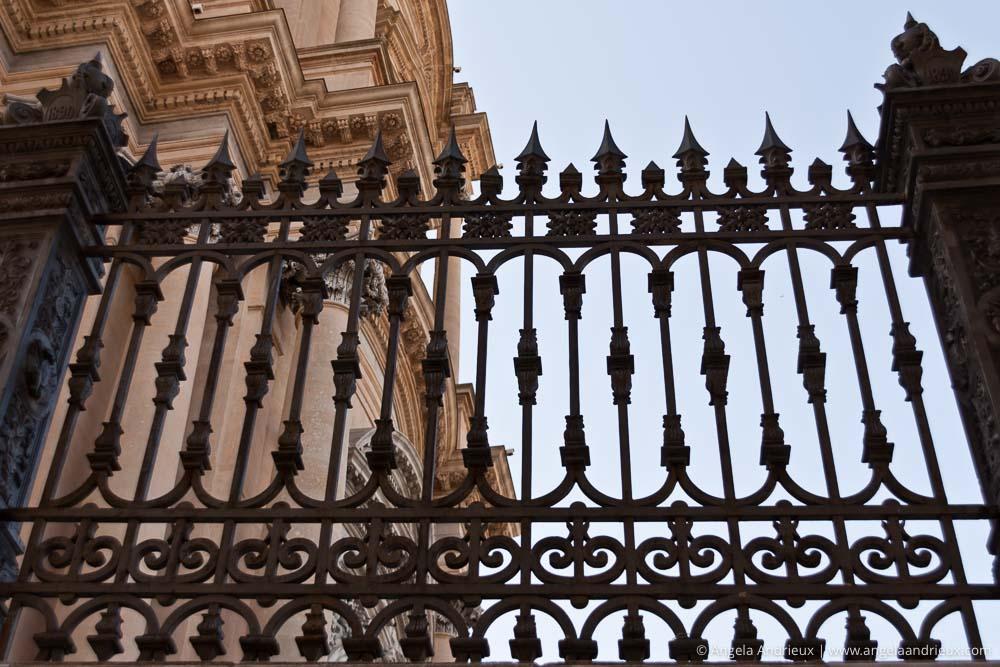Wrought Iron Fence | Ragusa Ibla | Sicily | Italy | Scott Kelby Worldwide Photo Walk 2010