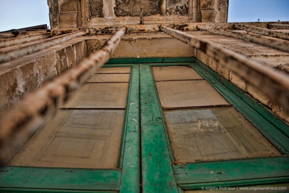 Green Window & Bars | Ragusa Ibla | Sicily | Italy | Scott Kelby Worldwide Photo Walk 2010