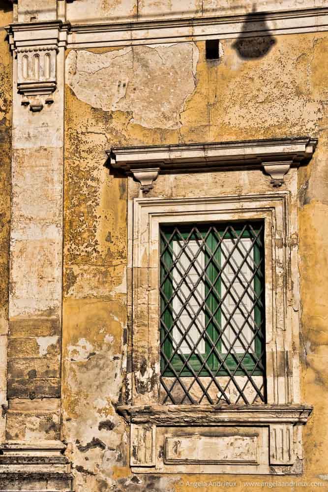 Green Window, Yellow Wall | Ragusa Ibla | Sicily | Italy | Scott Kelby Worldwide Photo Walk 2010