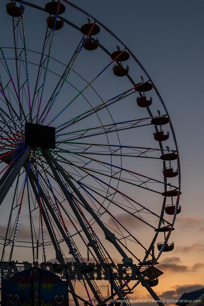 Grand Ferris Wheel Sunset | San Diego County Fair | Del Mar, CA