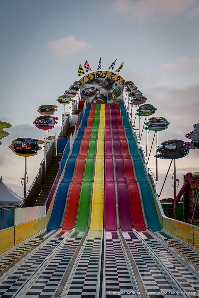 Rainbow Slide | San Diego County Fair | Del Mar, CA