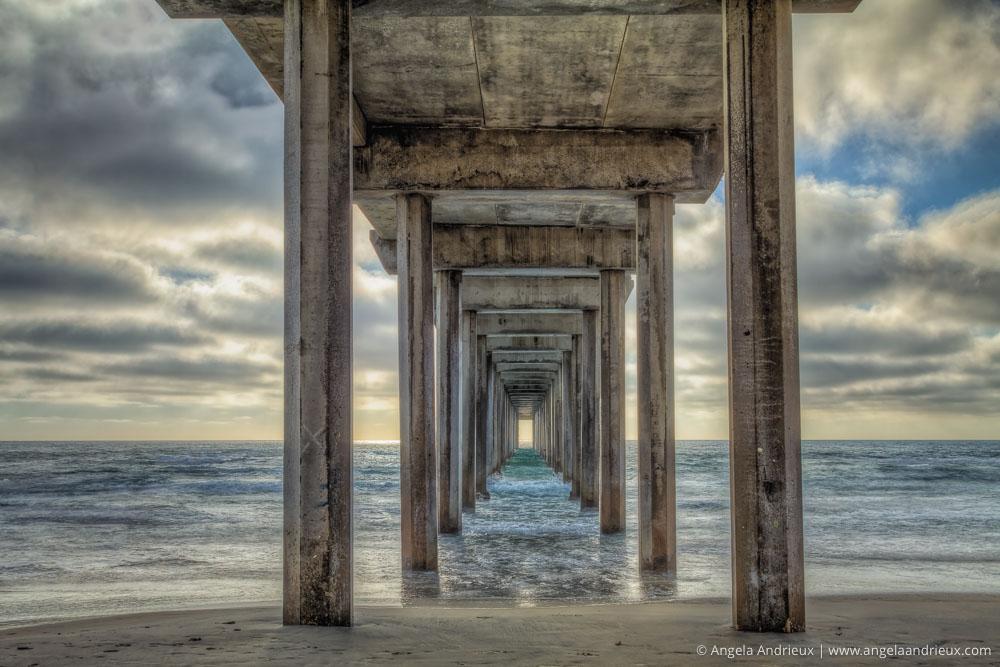 Scripps Pier Sunset | La Jolla, CA