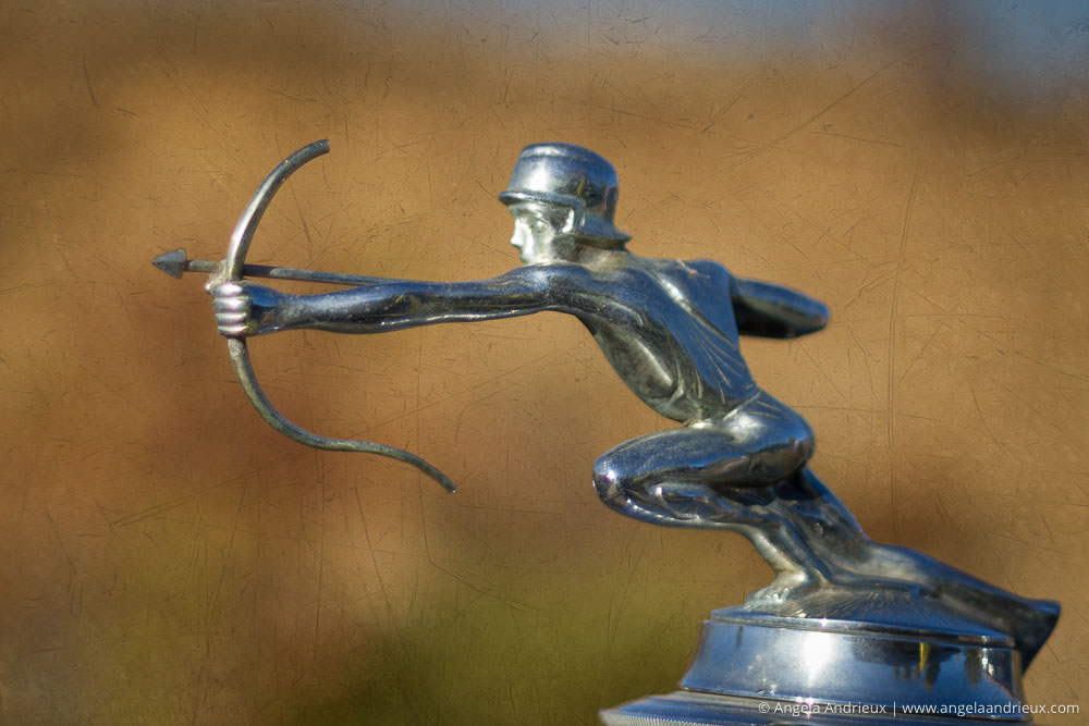 Pierce-Arrow Motor Car Hood Ornament | Menghini Winery | Julian, CA