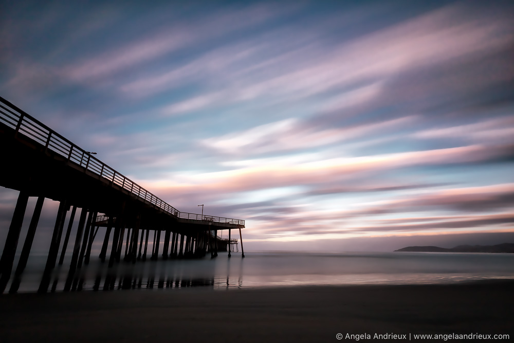 Sunrise Long Exposure | Pismo Beach Pier | Processed with Aurora HDR 2017