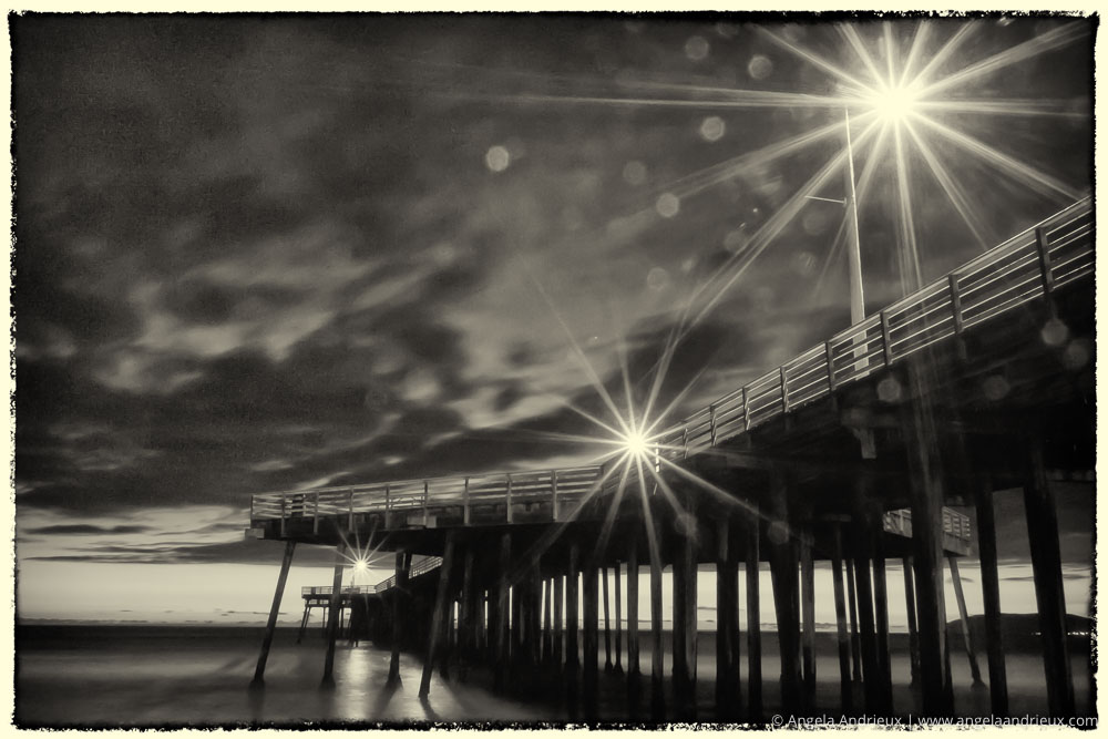 Pismo Beach Pier Starburt | Unnatural Bokeh