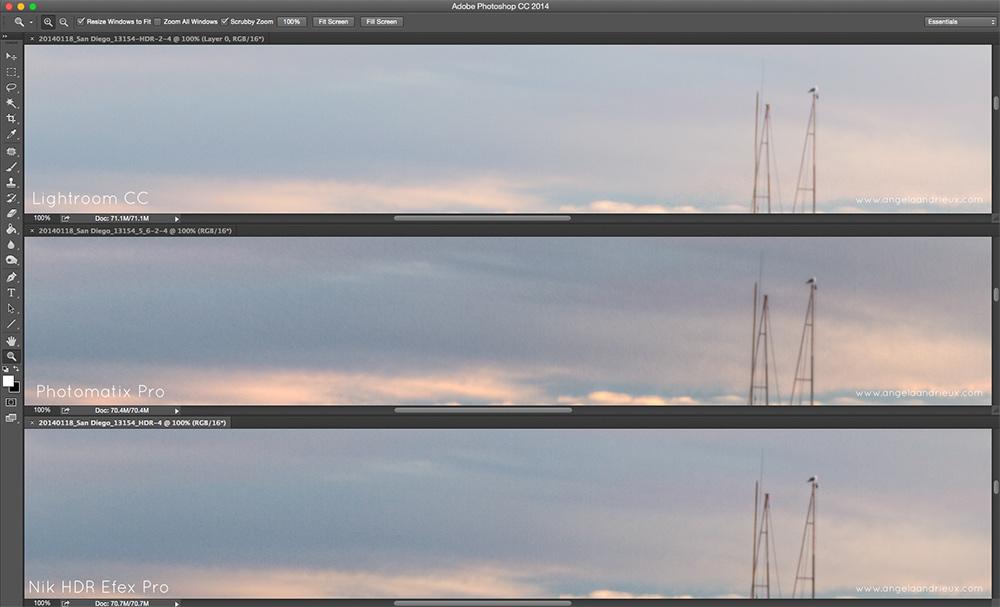Noise Comparison   Nik HDR Efex Pro, Photomatix Pro, Lightroom HDR Merge   Best HDR Software