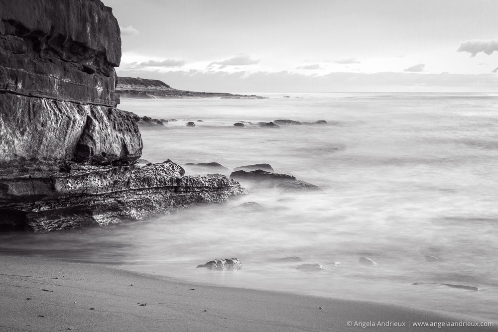 Channelling Ansel Adams | Black and White | Long Exposure | La Jolla, CA
