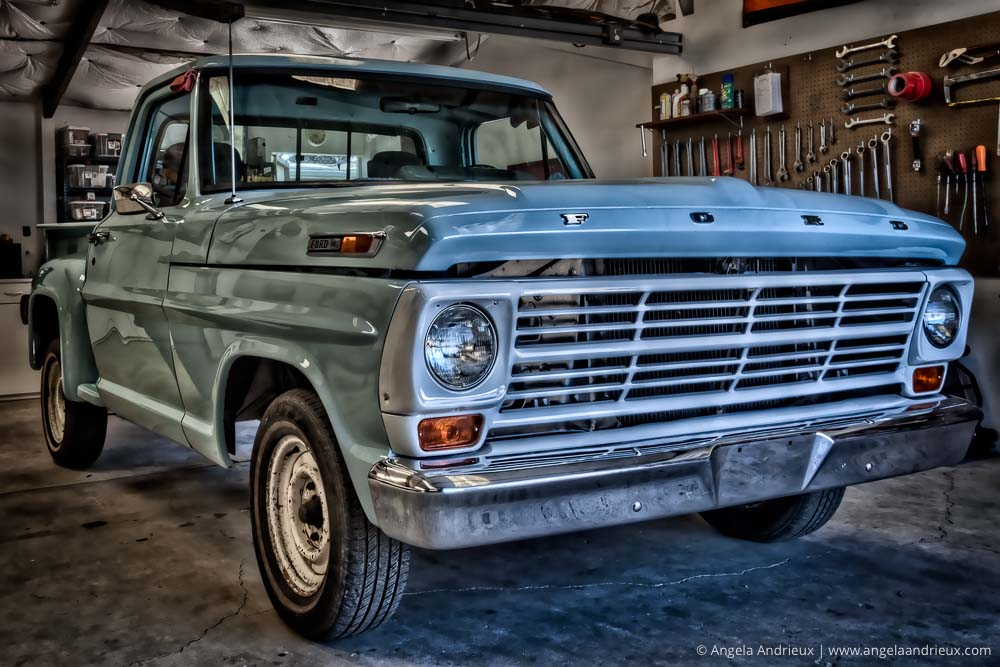 Daddy's Truck | Baby Blue 1968 Ford F100