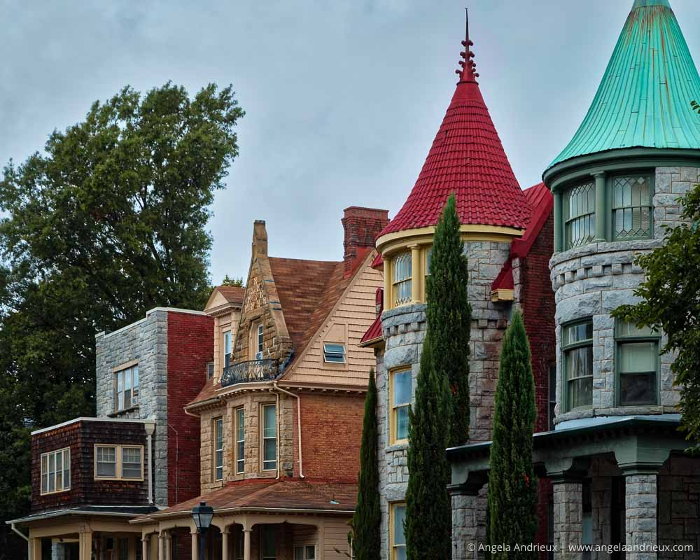 Historic Homes in Ghent | Norfolk, VA | Processed in Aurora HDR 2017