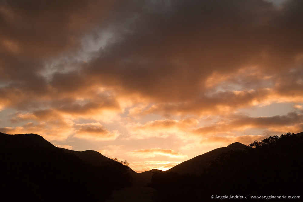 Iron Mountain Sunrise Clouds | Poway, CA
