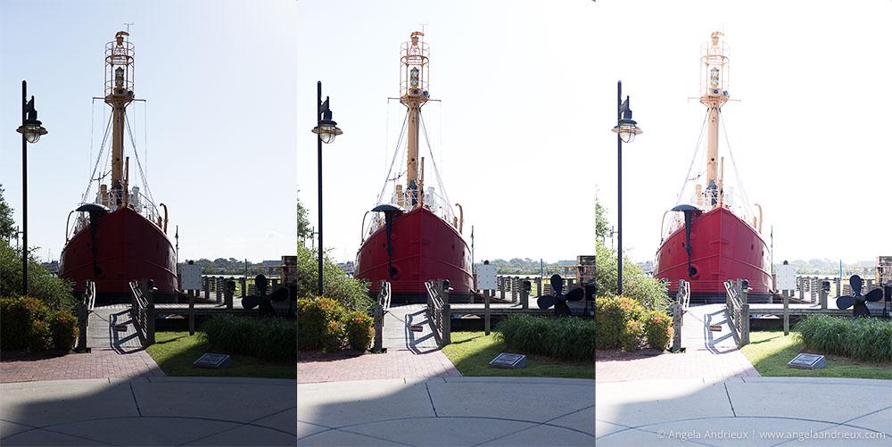 Lightship Portsmouth | 3 Frames Bracketed for HDR