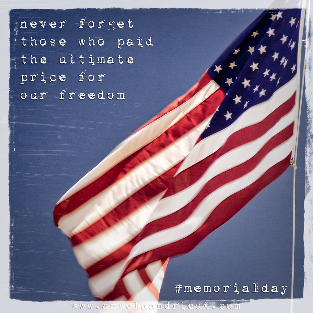Memorial Day | American Flag | Quote