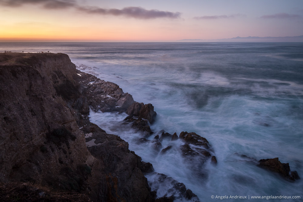 Long Exposure Sunset Montana de Oro State Park | Los Osos, CA
