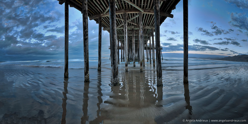 Pismo Beach Pier Panorama | Processed with Aurora HDR 2017