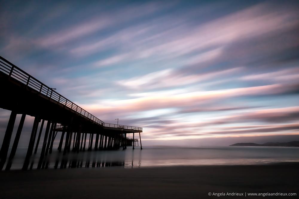 Pismo Beach Pier at Sunrise | Long Exposure | Processed in Aurora HDR 2017