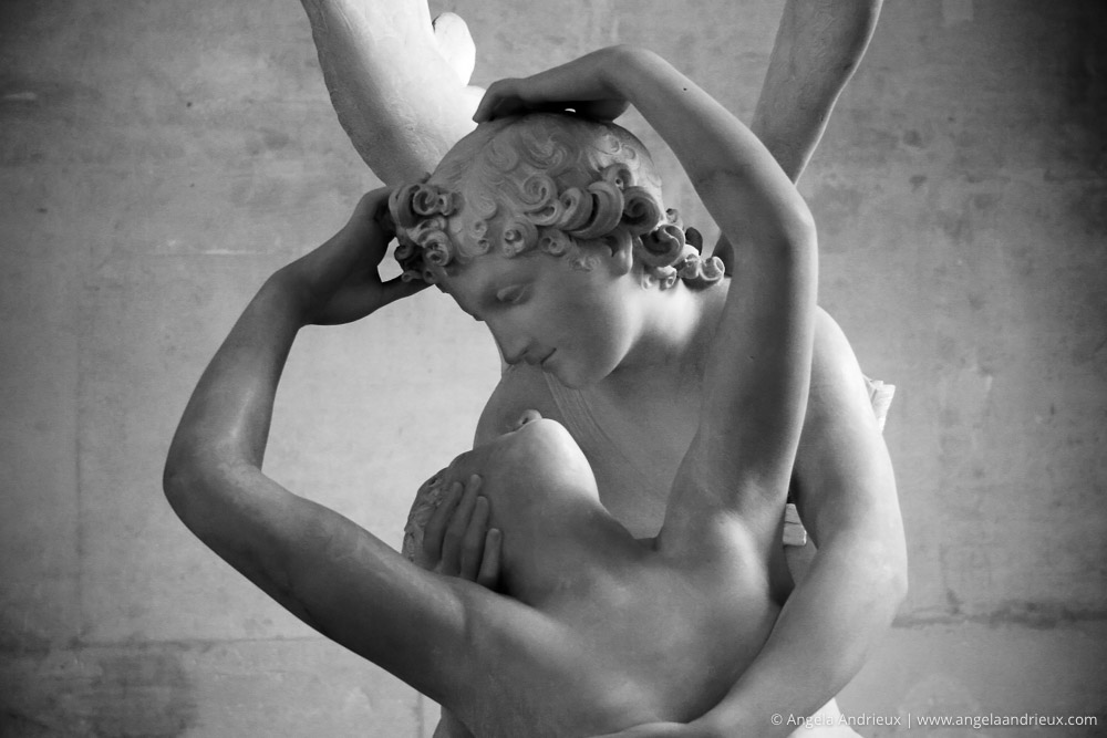 Psyche Revived by Cupid's Kiss | Musée du Louvre Sculpture by Antonio Canova | Paris, France