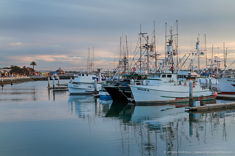 San Diego, CA Marina Sunset   Nik HDR Efex Pro   Best HDR Software