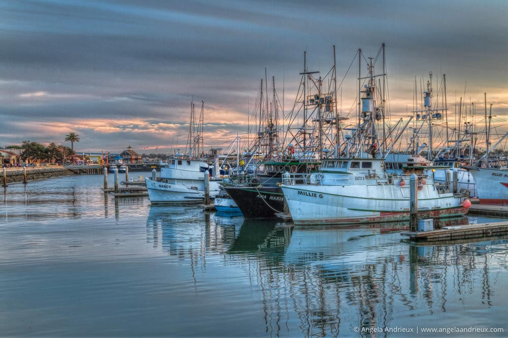 San Diego, CA Marina Sunset | Photomatix Pro with Topaz Clarity & Adjust | Best HDR Software